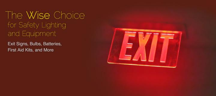 Slide – Exit Signs